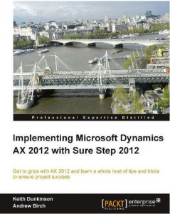 Implementing Microsoft Dynamics AX 2012 with Sure Step 2012 Cover