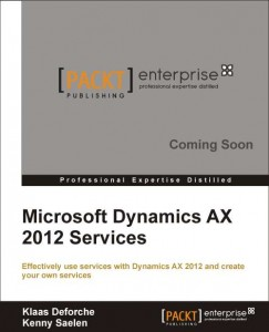 Microsoft Dynamics AX 2012 Services book